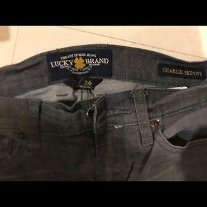 Lucky brand Charlie skinny jean